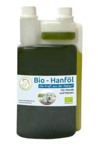 Bio-Hanfprodukte Tiere - Nahrungsergänzung für Hund und Katze
