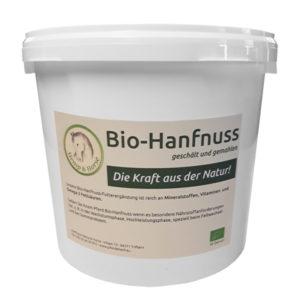 Bio Hanfnuss, die hochwertige Futterergänzung für Pferde